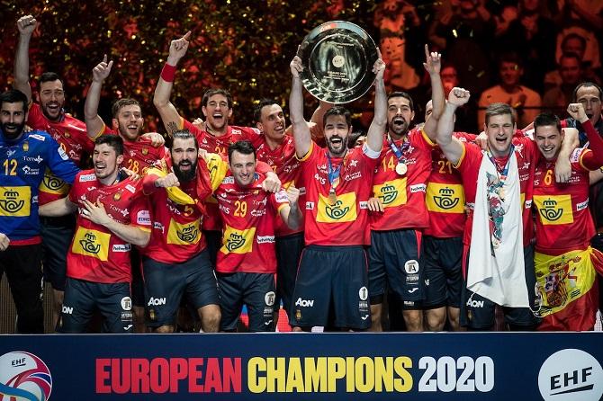 España Se Proclama Campeona De Europa En Balonmano Madridpress Periódico Digital De Noticias De Madrid España Y Mundo