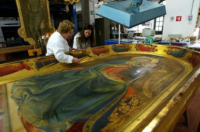 Descubierto un cuadro de Botticelli bajo un siglo de barniz