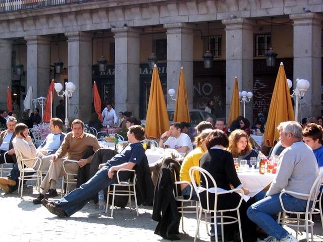 Las Terrazas En Centro Podrán Abrir A Las 9 H Madridpress