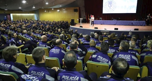 Casi 500 Policías Municipales reciben la Cruz de San Juan - Madridpress.com