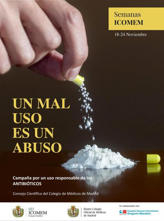 El Colegio de Médicos de Madrid alerta sobre el mal uso de los antibióticos - Madridpress.com