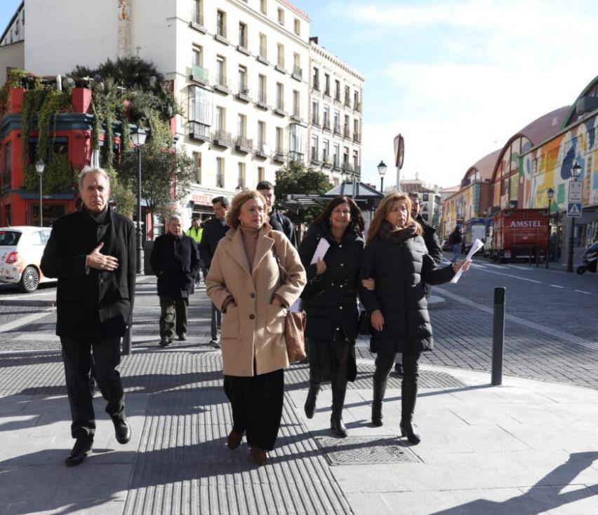 Concluyen las obras del Eje Centro entre calle Magdalena y carrera de San Francisco - Madridpress.com